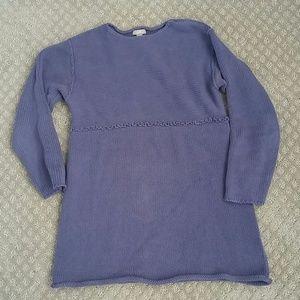 J jill size s rolled bottom sweater